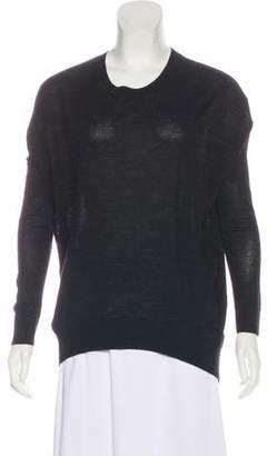 AllSaints Merino Wool Cut-Out Sweater