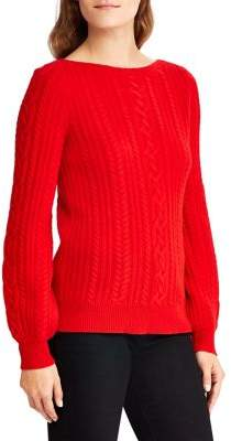 Lauren Ralph Lauren Classic Wool And Cashmere Sweater