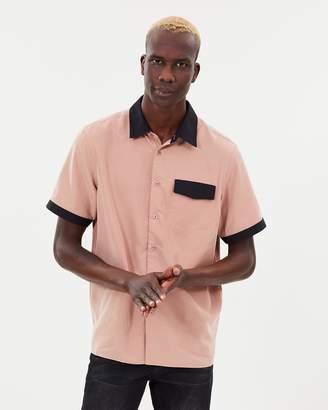 Saturdays NYC Mateo Modal Short Sleeve Shirt