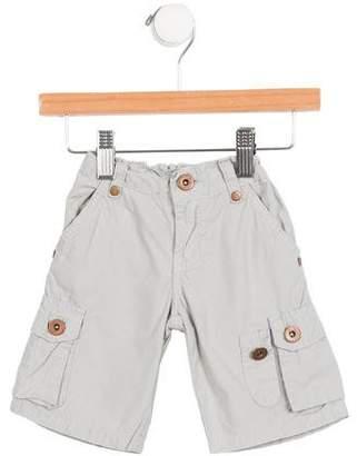 Baby CZ Boys' Elasticized Cargo Shorts