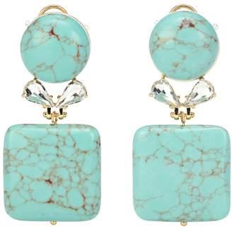 Lele Sadoughi Stone Starlet earrings