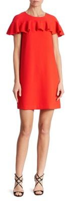 Trina Turk Ruffled Shift Dress $248 thestylecure.com