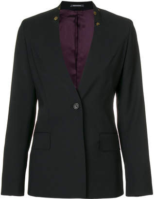 Paul Smith floral print collar blazer