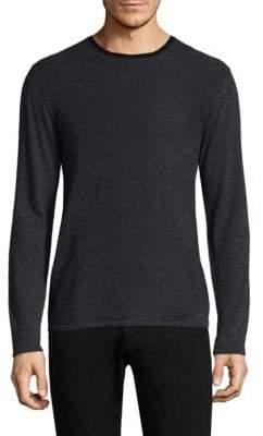Zachary Prell Huxley Colorblock Wool Sweater