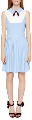 Ted Baker Miyya Pleated-Bib Dress