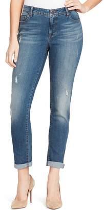 Bandolino Women's Karyn MidRise Slim Boyfriend Jeans