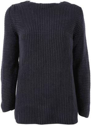 Closed Navy Cotton Knitwear