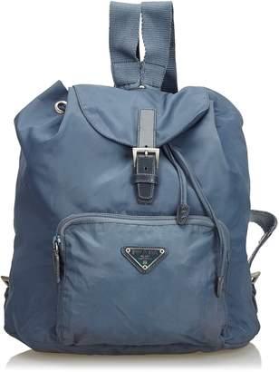 Prada Gray Backpack