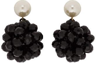 f083c6709 Marc Jacobs Black Pearl Crystal Ball Drop Earrings