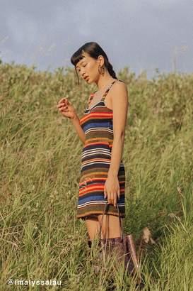 Urban Outfitters Multi-Color Striped Bodycon Mini Dress