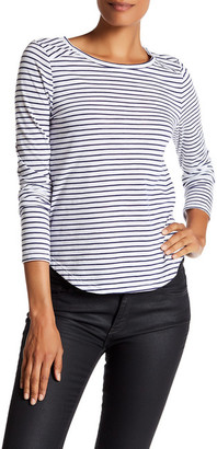 Melrose and Market Long Sleeve Striped Crew Neck Tee $19.97 thestylecure.com