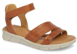 The Flexx Crossover Ankle Strap Sandal
