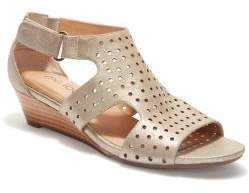 Me Too Sydnee Leather Wedge Sandals