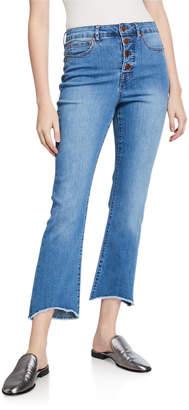 philosophy Button-Fly Chewed-Hem Denim Jeans