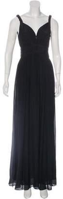 Rachel Zoe Silk Pleated Dress