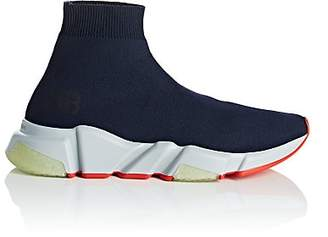 Balenciaga Women's Speed Knit Sneakers - Navy