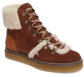 See by Chloe 'Eileen' Genuine Shearling Boot