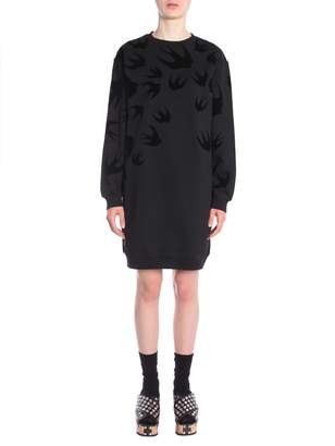 McQ Cotton Sweatshirt Dress