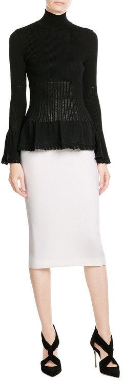 Alberta FerrettiAlberta Ferretti Virgin Wool Turtleneck Pullover