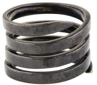 Lynn Ban Sterling Coil Midi Ring