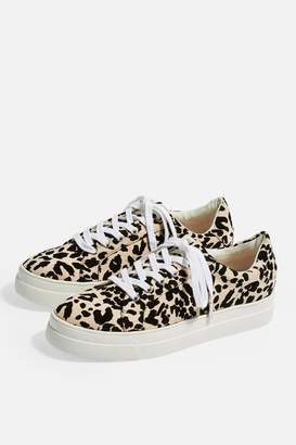 Topshop CANDY Lace Up Trainers