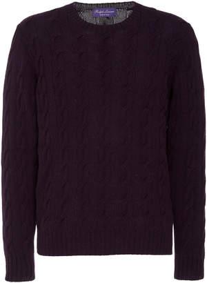 Ralph Lauren Cable Knit Crewneck Sweater