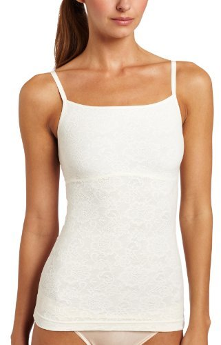 Flexees Women's Fat-Free Collection Lace Tank