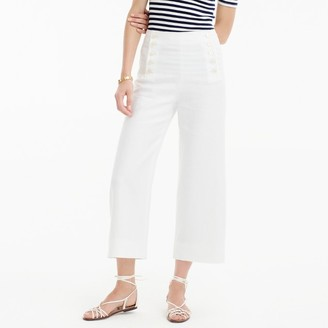 Sailor pant in heavy linen $118 thestylecure.com
