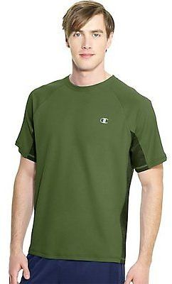 Champion Vapor PowerTrain Short Sleeve Colorblock Men's T Shirt