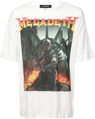 R 13 Megadeth print T-shirt