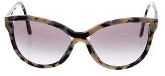 Stella McCartney Round Gradient Sunglasses