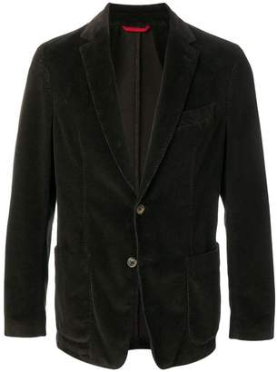 Fay corduroy single-breasted blazer