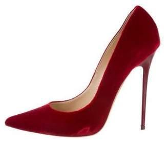 3e2edb19293 Jimmy Choo Red Pointed Toe Heels - ShopStyle Canada