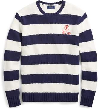 Ralph Lauren CP-93 Striped Cotton Sweater