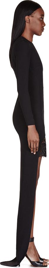 Stella McCartney Black Lace Layered Dress