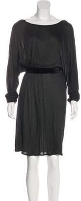 Stella McCartney Scoop Neck Knee-Length Dress