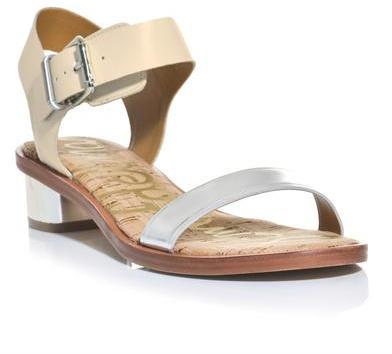 Sam Edelman Two strap low heel sandals