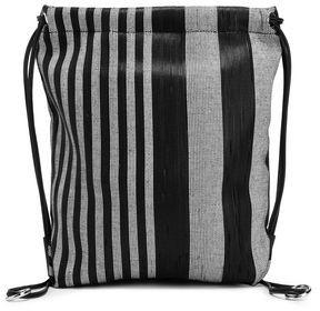 Proenza Schouler Striped Woven Backpack