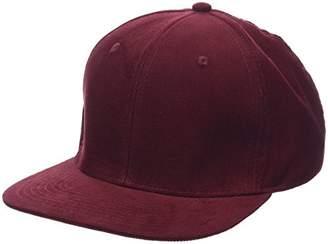 Femmes Casquette De Baseball De Cordon, Rouge (bordeaux Foncé), Taille (taille Du Fabricant: 99) Nouveau Look