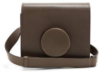 Lemaire Camera Leather Cross Body Bag - Womens - Grey