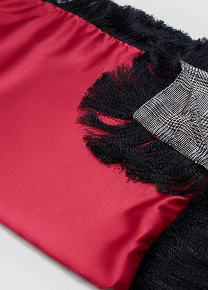 MANGO Combined design scarf