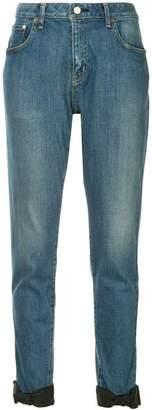 Tu es mon TRÉSOR ankle ribbon jeans