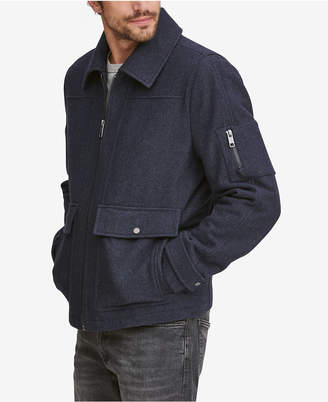 Andrew Marc Men Rhett Wool Trucker Jacket