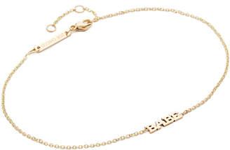 Zoe Chicco Babe Bracelet $250 thestylecure.com