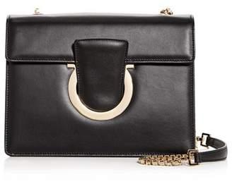 Salvatore Ferragamo Thalia Medium Leather Convertible Shoulder Bag