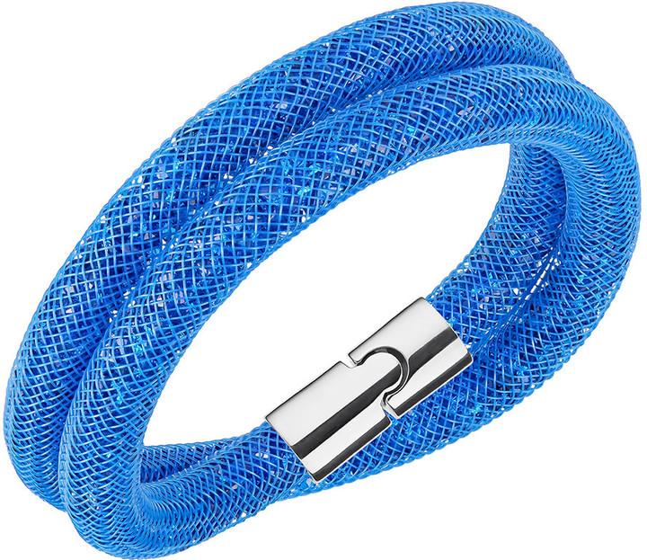 Stardust Capri Blue Double Bracelet