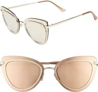 Quay Primrose 55mm Cat Eye Sunglasses