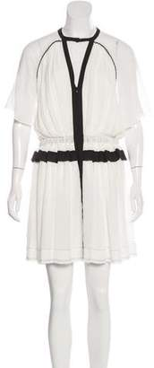 Isabel Marant Retra Pleated Dress