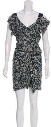 Etoile Isabel Marant Linen Floral Print Dress w/ Tags