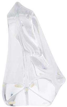 Daum Crystal Swan Neck Figurine